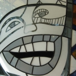 Hopi Kachina face